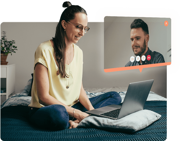 Try couple psychotherapy via video call
